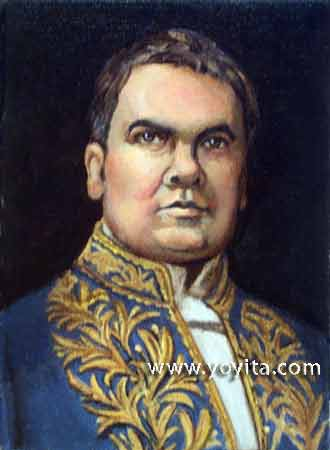 portrait of Ruben Dario  © Yoyita
