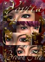 Brown fire eyes for Avis