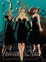 Indecent black dress by Yoyita