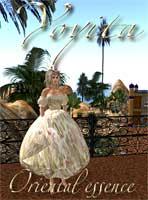 Oriental essence gown Yoyita