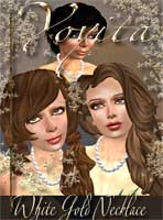 White gold necklace secondlife