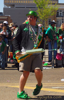 characters Saint Patricks Parade Day costumes
