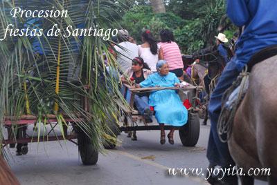 procesion fiestas de Santiago