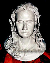 comissioned portrait bust © Dr. Gloria  M. Norris Yoyita