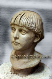 Samuel sculpture portrait bust