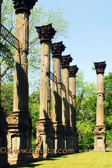 Windsor Ruins Mississippi Greek Revival Antebellum Mansion