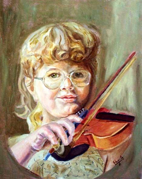 肖像画 of Emily © Dr. Gloria  M. Norris yoyita
