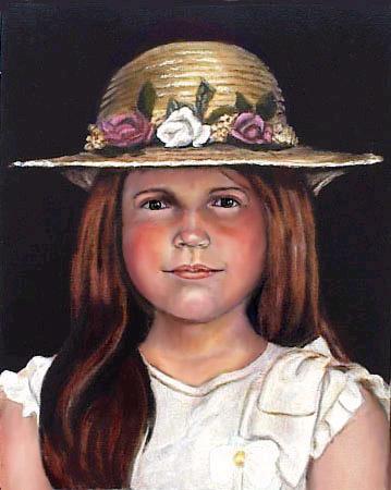 肖像画 of Fabiolita © Dr. Gloria  M. Norris Yoyita