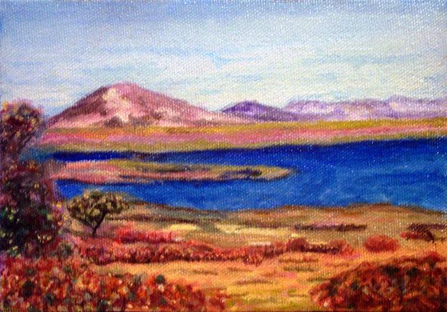 Nicaragua Peinture à l huile sur toile © Yoyita