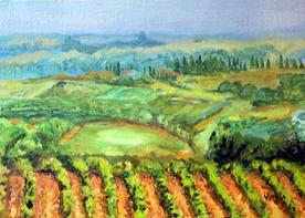 vinedos toscano © Yoyita