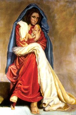 Ave Maria © Dra. Gloria M. Sánchez Zeledon de Norris Yoyita
